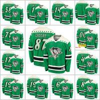 Pittsburgh Penguins 2021 St Patricks Dia 87 Sidney Crosby 71 Evgeni Malkin 58 Kris Letang 59 Jake Guentzel Hockey Jerseys Personalizar S-6XL