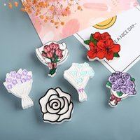 Utensili artigianali Ins Style Bouquet Mold Calla Lily Flower Tulip Gesso Gesso Rosa Resina