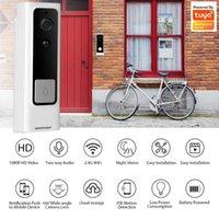 Doorbells Tuya Smart Video Doorbell WiFi Wireless Camera Security Home Intercom Two Way Audio HD IR Night Vision Door Mini