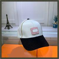 21ss Classic Canvas Mens Sun Hats Designers Baseball Cap Womens Casual Embroidery Sunhat High Street Fashion Sports Caps 21081307ZY
