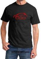 Camisetas para hombres Camiseta de los hombres Fiat 500 Classic Color Rojo Design Tshirt T-shirt Divertido Camiseta Novedad Mujeres
