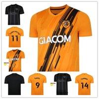 Hull City Futbol Forması 21 22 Ev Uzakta Sarı Siyah 2021 2022 Futbol Gömlek Wilks 7 Honeyman 10 Bernard 24 Eates 9 Scott 15 Camiseta de Futbol