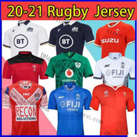 Nuovo 2021 New Rugby World Cup Jersey Galles Red Jerseys 20 21 Rugby League Spagna Camicie da rugby Scozia Fiji Tonga Shirts S-XXXLFactory Outlet