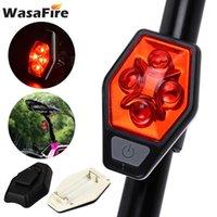 Велосипедные огни WALAFIRE Водонепроницаемый велосипед задний свет USB зарядки MTB Taillight Super Bright LED COB лампы безопасности