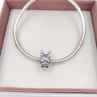 925 sterling silver christmas jewelry making sets original pandora bangle Disny Mrs Duck portraitt charms bracelet for women necklace chain beads DIY style 792137