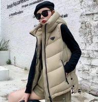2021 파리 패션 가을 겨울 패션 숙녀 조끼 디자이너 하이 엔드 남성 면화 사용자 정의 후드 자켓 편안한 따뜻한 기질 슬림