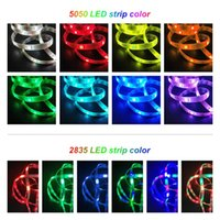 Smart LED Strip Lights RGB 5050 SMD Flexible Ribbon Waterproof LED Lamps