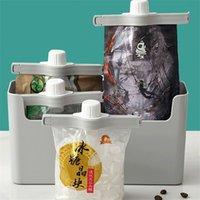Grampos de vedação de saco para alimentos grampos de vedação de tampão de plástico clipes de vedação de armazenamento de alimentos com despejos de armazenamento de alimentos de cozinha 768 K2