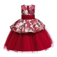 الفتاة فساتين الاطفال أنيقة للفتيات الأميرة اللباس طفل فتاة الملابس حزب vestidos زي سن 2-12 سنوات عيد الميلاد