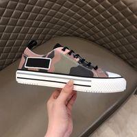 Top Qualität Mann Designer Schuhe Leder Screener Designer Sneaker Neue Ass bestickte Erdbeer Beiläufige Schuhe 39-44