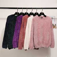 Women's Sweaters Women Long Sleeve Knitted And Pullovers Female Jumper Tricot Tops Pull Femme Fashion Winter O-neck Warm Sweater