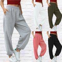 Jeans pour femmes Capris Streetwear Harem Sweat Pantalons Femmes Joggers Noir Blanc High Taille Femme Femme Pantalons Winter Loose Piste
