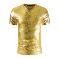 Designer di alta qualità T-shirt casual Slim Slim Color Coath Cowl Summer Summer-Summer-Switch Moda Uomo Local Tyrant Gold