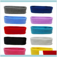 Aessories & Tools Hair Productsunisex Sport Cotton Sweatband Headband For Men Women Yoga Hairband Gym Stretch Head Bands Strong Elastic Fitn
