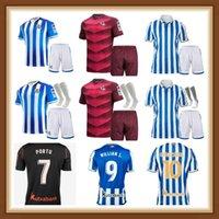 2021 Gerçek Sociedad Silva Futbol Formaları Oyarzabal Copa Del Rey Lopez Portu 2022 Camiseta De Futbol Januzaj Willian Isak Futbol Gömlek Erkekler Kids Kitleri