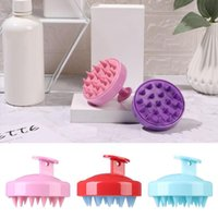 Hair Brushes Cleaner Cleaning Brush Comb Shower Dandruff Silicone Scalp Massager Shampoo Bath Removal