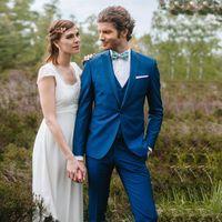 Men's Suits & Blazers Designer Suit Peaked Lapel One Button Wedding Male Tuxedos Slim Fit Groom Wear 3 Pieces Prom Jacket Vest Pants