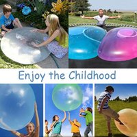 Party Decoration Children Outdoor Soft Air Water Filled Bubble Ball Blow Up Balloon Toy Fun Game Gift For Kids Inflatable Funny