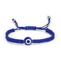 2021 New Blue Evil eye Charm Braided Rope Chains bracelets For Women Men Turtle Elephant Hamsa Hand charm Red String Bangle Fashion Jewelry