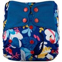 Couches en tissu 11.11 Arrivée N ° 4 Snap Couche Cover - Étanche lavable Réutilisable 3-15kg Bamboo Microfibe Inserts Baby Diaper1