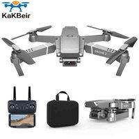 Kakbeir E68 Drone HD Large Angle 4K WIFI 1080P FPV Drone Vidéo Enregistrement en direct Hauteur quadricopter pour maintenir la caméra drone vs E58