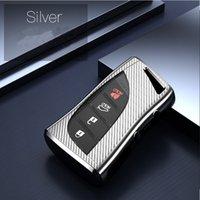 Funda de llave de coche TPU para Lexus CT ES LS UX NX RX LX LC es GS, Caja de claves para automóvil