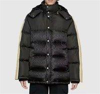 Mujeres bajando chaquetas Parkas de manga larga con capucha Abrigo grueso para Outwears de invierno Lady Slim Style Chaqueta con dibujos de cremalleras Abrigos de rompevientos Tamaño S-L