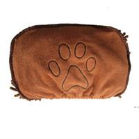 الحيوانات الأليفة كلب حمام منشفة ستوكات سوبر ماصة الحيوانات الأليفة تجفيف منشفة فائقة ماصة بطانية مع جيب للكلاب الصغيرة المتوسطة HWC6485