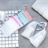 جعل فقاعات صافي الصابون التوقف كيس شبكة سوا p الحقيبة حقيبة التخزين الرباط حامل حمام الإمدادات