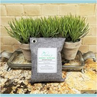 Vacuums Cleaning Supplies Housekee Organization Home & Garden Purifying Bamboo Charcoal Bag Air Freshener Odor Deodorizer 200G Natural Drop