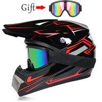 Motocross Motorcycle Helmets, Off-road Downhill Helmets, Full Face Racing Helmet, Free Mask Helmet Casco Casque Moto Capacete