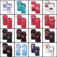 Chicago23 Michael Jersey Scottie 33 Pippen Dennis 91 Rodman Jersey Retro BullBasketbol forması