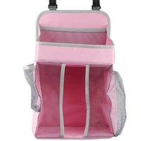 -Baby Krippe Hängende Aufbewahrungstasche Windel Windel Organizer Kinderbett Säuglingsmittel Essentials Caddy Boxes Bins