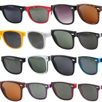 19 cor de marca de cor Óculos de sol para homens Mulher de luxo moda óculos de sol personalidade tendência de revestimento reflexivo Eyewear 54mm