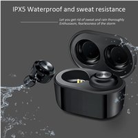 30Pcs Cheapest DT-3 tws Stereo Earbuds Wireless Sport Earphones Afans With Bluetooth 5.0 waterproof Charging Case Pk i11 i12 A6S tws