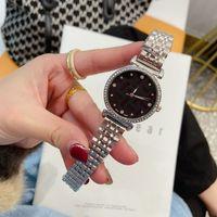 Designer 32mm Designer Guardes Cap Womens Guarda la moda Korean Simple Digital Lega Digital Wish Star Watch Watch Du12584