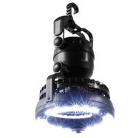 2in1 LED portátil lanterna de campismo com ventilador de teto 18 LED ventilador de teto para interrupções de pesca ao ar livre e emergenc