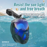 Full Face Scuba Tauchmaske HD Anti Nebel Goggles Schwimmen Schnorchelmaske Für Gopro Kamera Männer Frauen Kinder L0312