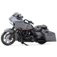 Maisto 1:18 CVO Road Glide Die Gussfahrzeuge Sammeln von Hobbys Motorrad Modell Spielzeug 210226