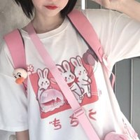 الجمالية camisas موهير المتناثرة تي شيرت kawaii لطيف طباعة الصيف الكورية الشارع الشهير المرأة شيك عارضة قمم Y2K الملابس