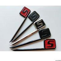 Chrome Черные красные буквы S значки эмблемы эмблема значок для Mercedes Benz C63S E63S CLS63S S63S GLE63S GLC63S GLS63S AMG S