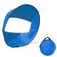 Faltbares Kajak-Boot-Wind-Segel-Ultraleicht-Sommer-Surfen-Windpaddel-Segel-langlebiger Downwind-Paddel-Ruderboote klares Fenster1