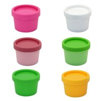 Storage Bottles & Jars 2 Pcs lot Refillable Plastic Empty Makeup Jar Pot Travel Face Cream Lotion Cosmetic Container 9 Colors 50g