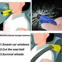 Vehicle Safety Hammer Portable Escape Hammers Window Breaker Vehicle-mounted Multifunctional Mini-lifesaving Safety Hammer VTKY2069