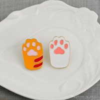 Chien Pet Paw Cadeau Paw Pin Unisexe Empreinte de l'empreinte de bijoux Broche Print pour lui Chat Lover Dog Cravate Looches Broches Tige Animal Noël Gif Ahhk
