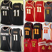 NCAA New Trae 11 Young De'andre 12 Hunter Jersey university Retro Spud 4 Webb 21 Basketball Jerseys Embroidery Logos