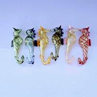 Sea Horse Glass Spoon Pipe