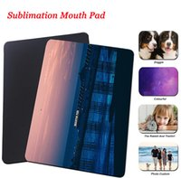Sublimation Mouse Pad Decor Blank DIY Computer Keyboard Mat Heat Transfer Coating Table Cushion