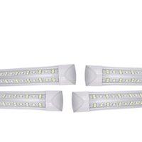 25 / Pack-Kühler-Tür integriert V-Form 8ft LED-Röhrenlicht 6500K 144W Klare Linse 14400LM für Lagerhaus in New Jersey USEALIGHT