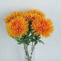Simulación hecha a mano Chrysanthemum Flower Potted Plant Festival Festival Festival Festivales Minimalismo Moderno Estilo WLL252